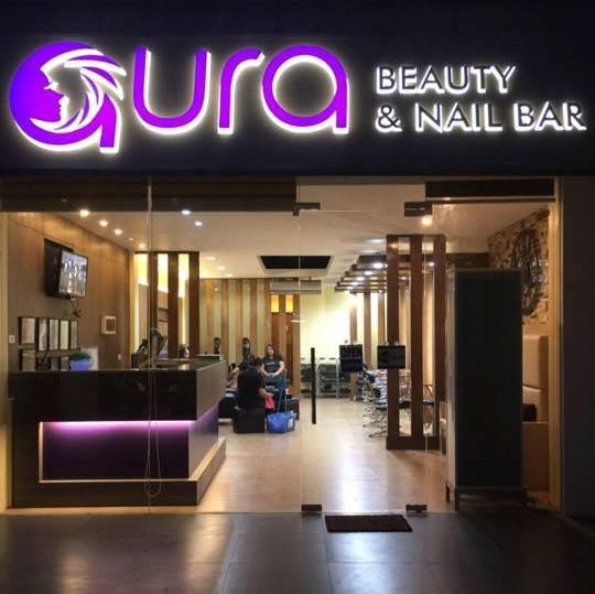 aura beauty and nail bar one of the best salons in san fernando pampanga