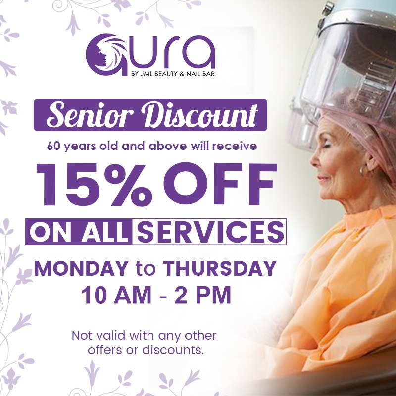 aura beauty and nail bar one of the best salons in san fernando pampanga senior discount